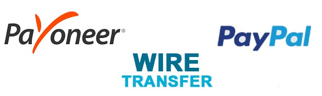 Сравнение Payoneer, Wire Transfer и PayPal