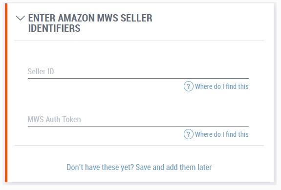 Подключение аккаунта Amazon в системе Payoneer