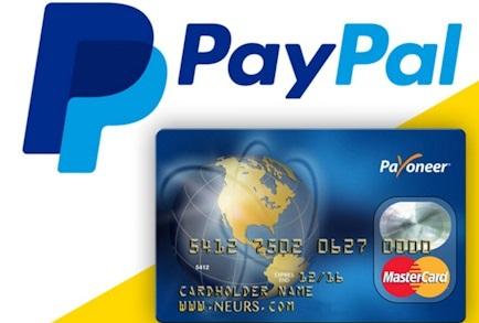 Привязка карты Payoneer к PayPal
