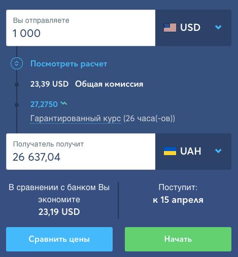 Перевод TransferWise