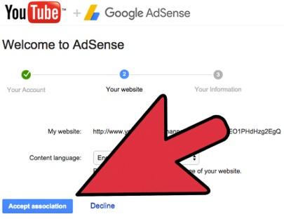 Привязка аккаунт Google Adsense к Ютуб-каналу
