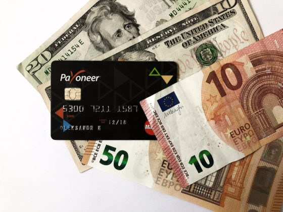 Как поменять валюту карты (счета) Payoneer