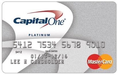 Platinum Credit Card от Capital One
