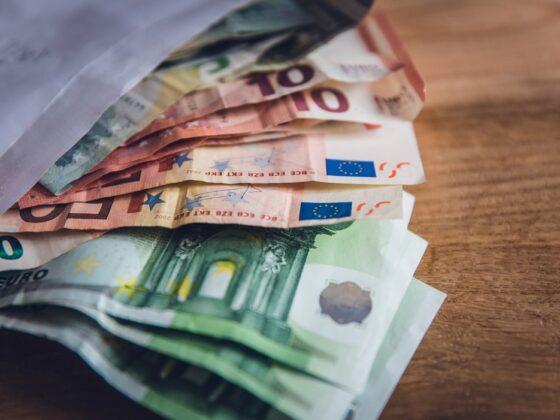 Евро купюры