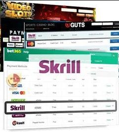 Skrill используется казино и букмекерскими конторами
