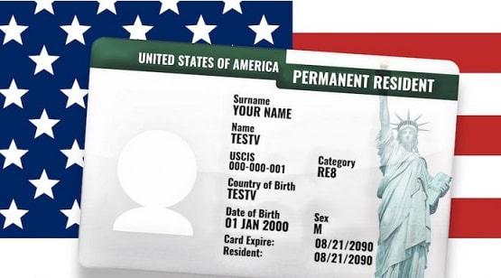 Как получить грин карту находясь в США