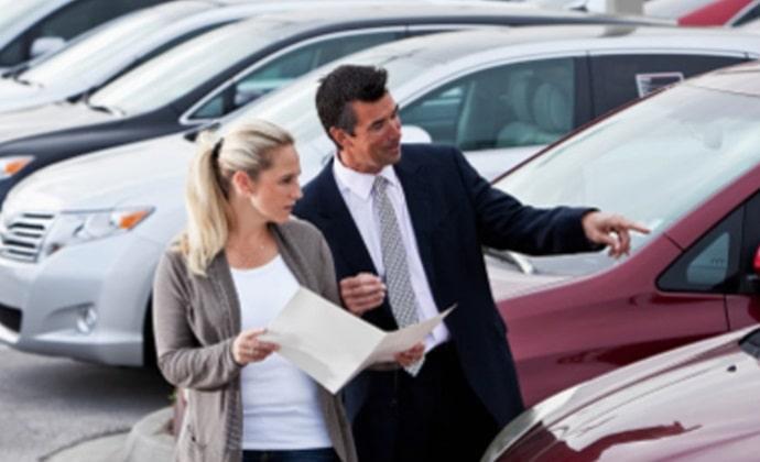 Продажа авто в Америке