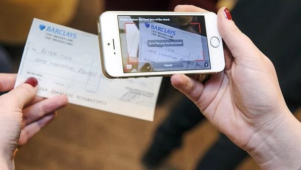 Мобильное приложение для обналичивания чеков в США