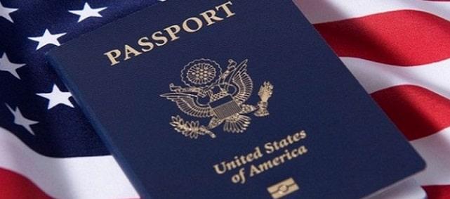 Паспорт для рожденного в США
