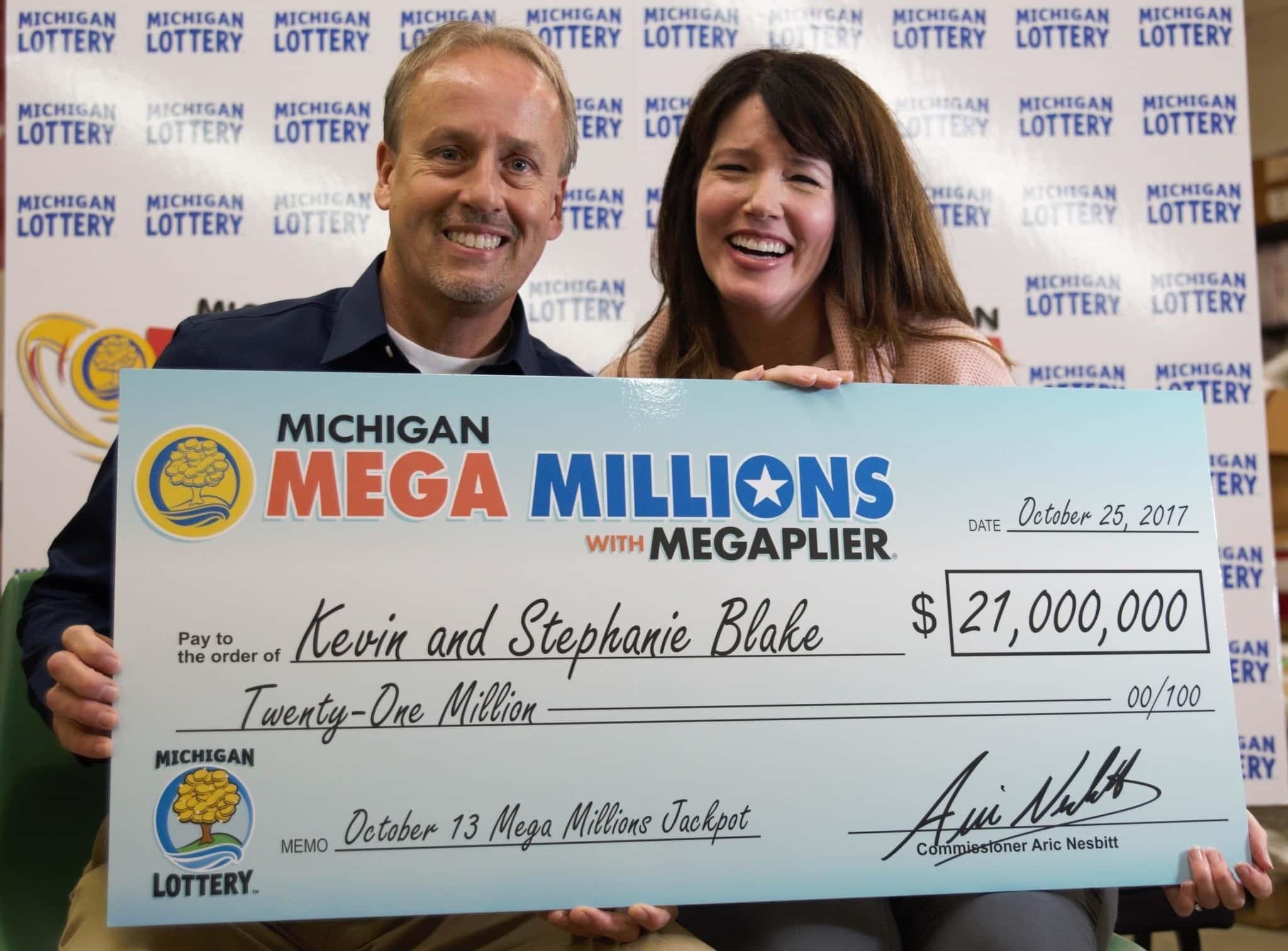Победители лотереи МегаМиллионы