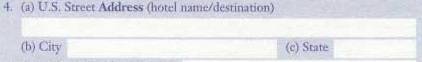 пункт 4 таможенной декларации
