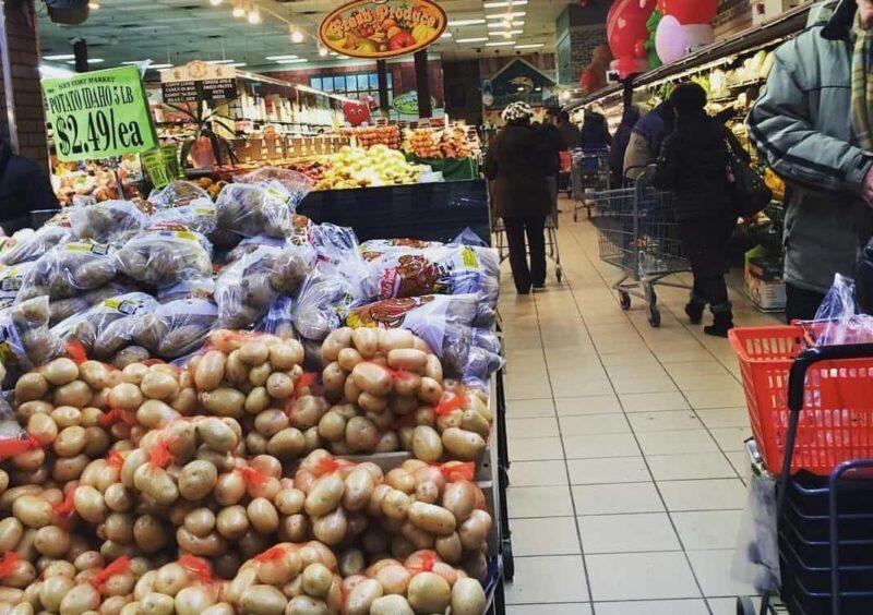 Русский супермаркет в Америке