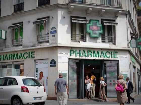 русские аптеки во Франции