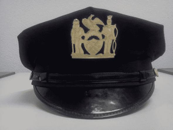 Фуражка детектива полиции США