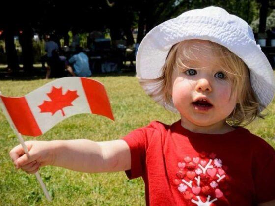 ребенок в Канаде