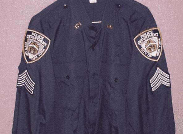 Форма сержанта в полиции США
