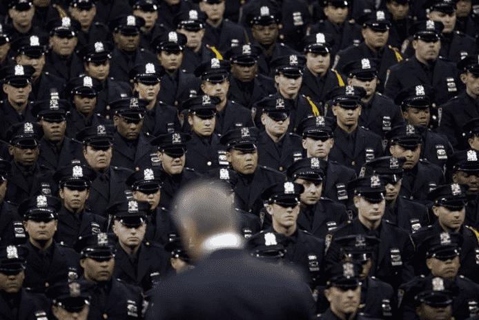 полицейские в США