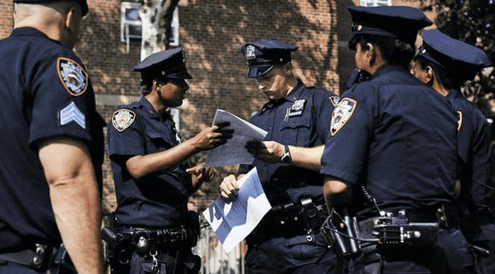 полицейские США