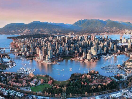 Ванкувер панорама