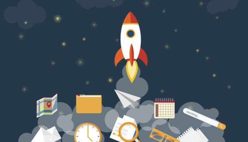 ракета стартап