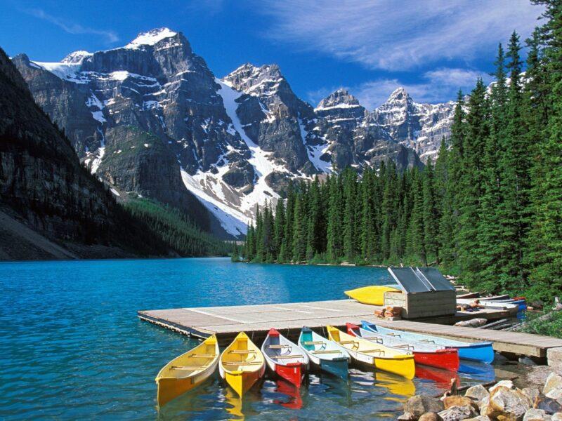 канада пейзаж