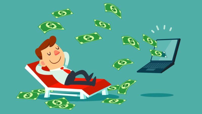 картинка мужчина деньги