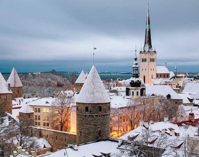 средняя зарплата в Эстонии