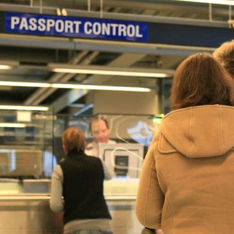Паспортный контроль в Финляндии