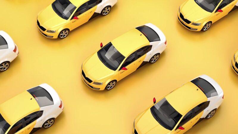 картинка такси