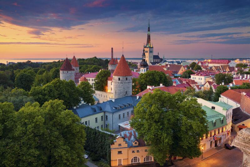 эстония пейзаж