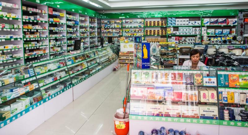 особенности китайских аптек