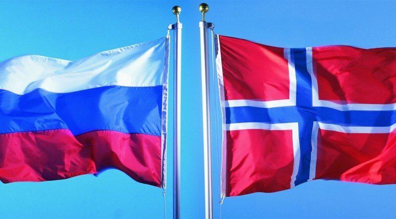 Норвегия Россия
